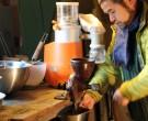 Takao Momiyama experimenterar med bovetekrossen.
